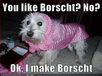 Borscht Dog