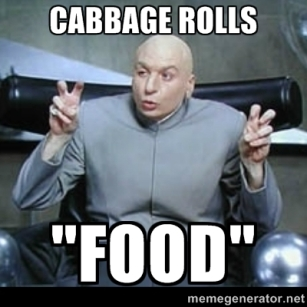 Cabbage Rolls Food