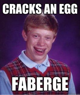 Cracked Faberge