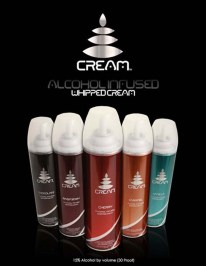 Cream Alcohol Whip Cream