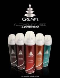 Cream Alcohol Whip Cream