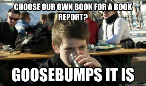 goosebumps report