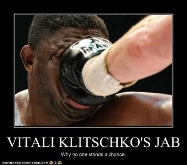 Klitschko Jab