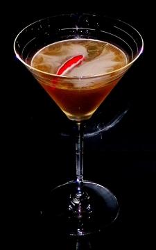 Fireball Martini