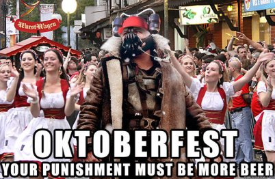 Oktoberfest Punishment