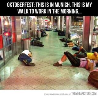 Oktoberfest Sleep