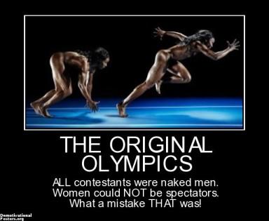 olympics nude