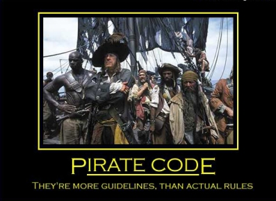 Pirate Code Guidelines