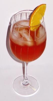 Pink Haze Cocktail