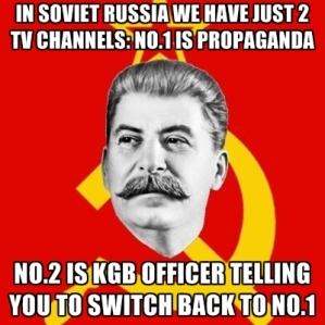 soviet propaganda kgb