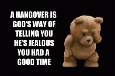 Ted-hangover