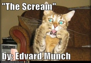 The Scream Cat