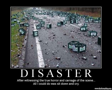 beer disaster