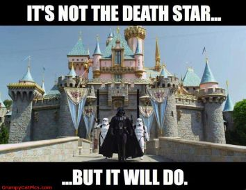 Darth Vader Castle