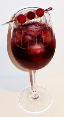 Bloodbath Wine Cocktail