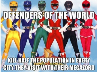 Power Rangers Killers