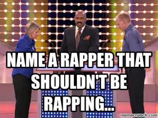 Rapper Rapping