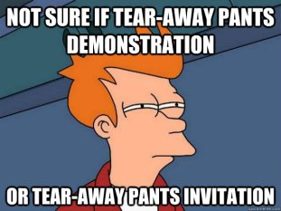 tear away pants