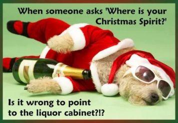 Christmas Liquor