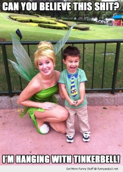 Hangin with Tinkerbell