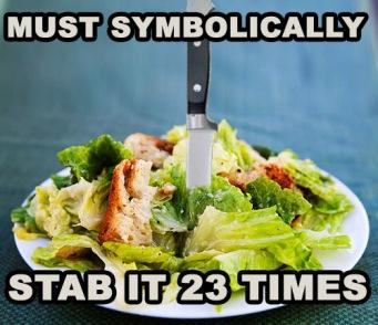 Caesar Salad Stab