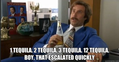 tequila escalation