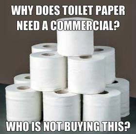 Toilet Paper Commercial