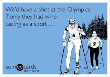 wine-tasting olympics