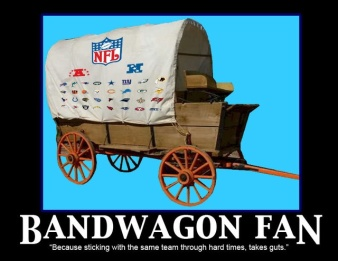 bandwagon fan