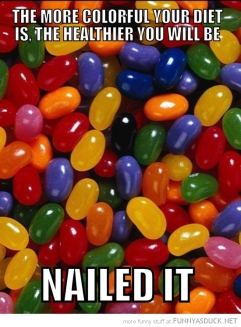 jelly bean diet
