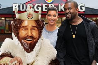 Kanye Burger King