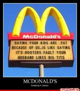 McDonald's Classy