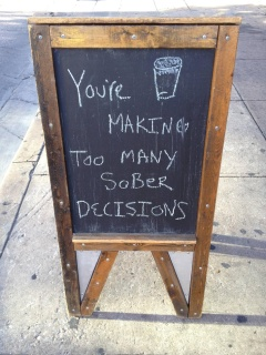 Sober Decisions