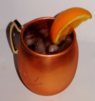 Melon Mule Cocktail