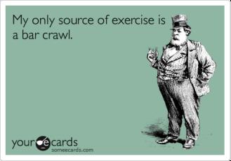 bar-crawl exercise