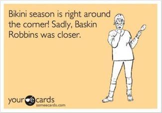 Baskin-Robbins Bikini Season