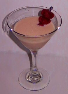 Rose Royale Martini