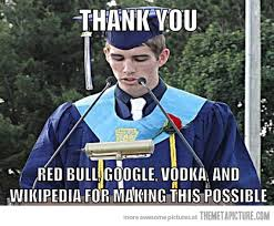 graduation thanks