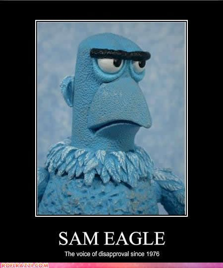 Sam the Eagle | Sip Advisor