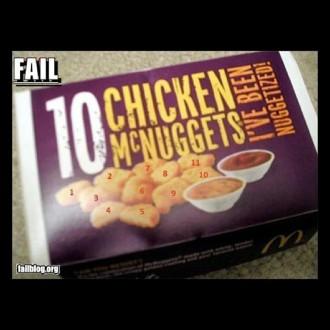 10 McNuggets