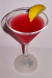 Berry Caliente Martini