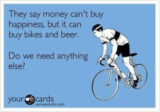 bike and beer