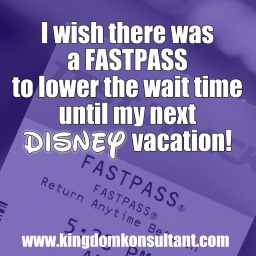 Disney Vacation Fastpass