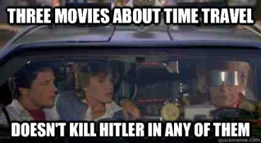 Time Travel Hitler