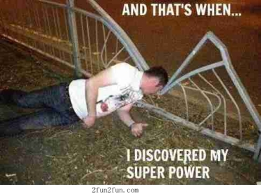 discovered super power