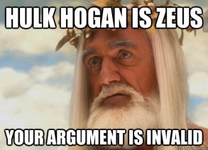 Hogan as Zeus