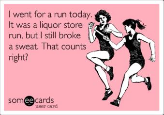 liquor store run