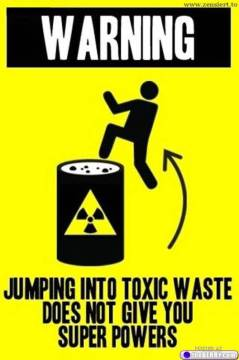 toxic waste super powers