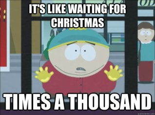 cartman waiting