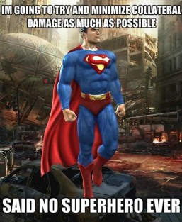 Superman Collateral Damage
